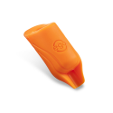 2-pack Silikon EGO Biogrips (Rakt) i Orange - Upp till 19MM Tuber