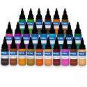 Komplett Set med 25st Intenze Ink New Colours 30ml (1oz)