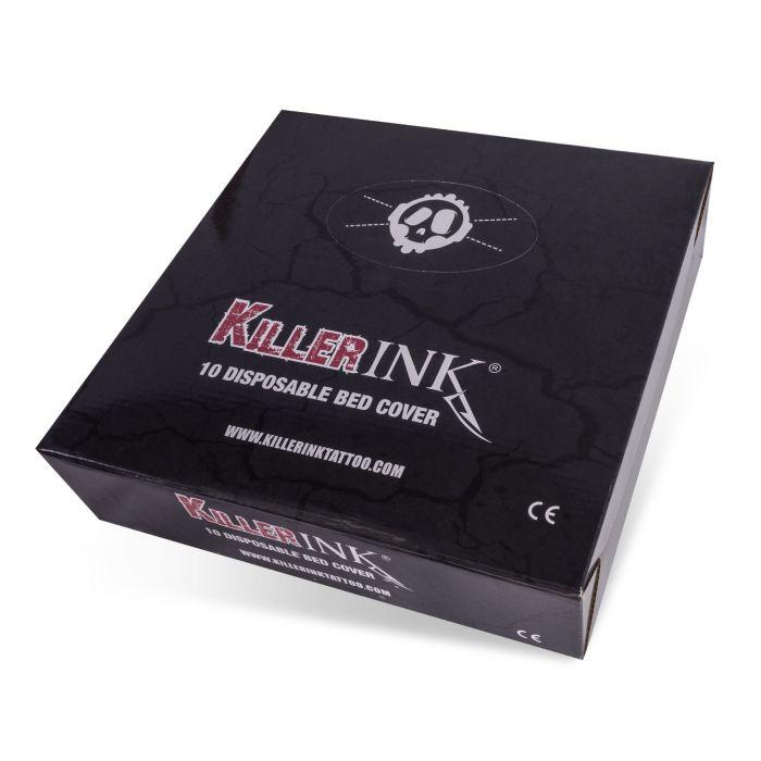 Låda med 10st Killer Ink Elastiska Bäddöverdrag 210x90x20cm