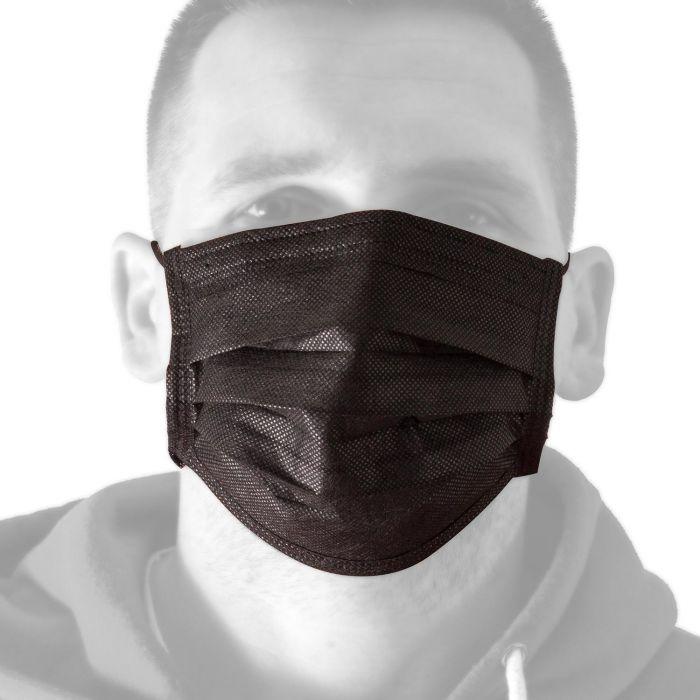 Låda med 50 Killer Ink Black Line Face Masks