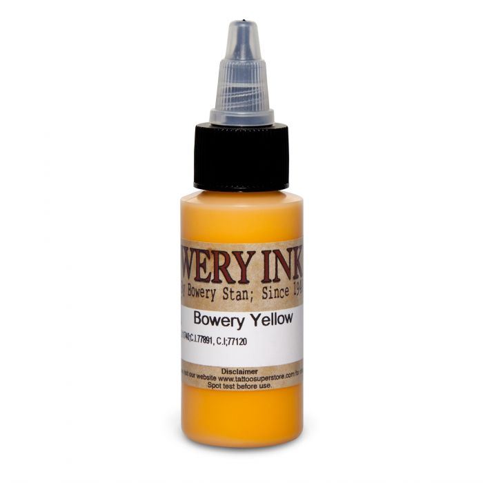 Intenze Bowery Ink by Stan Moskowitz Yellow 30ml (1oz)