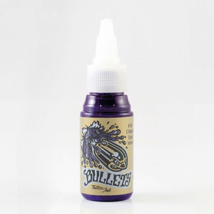 Bullets Tattoo Ink Classic Dark Violet 35ml
