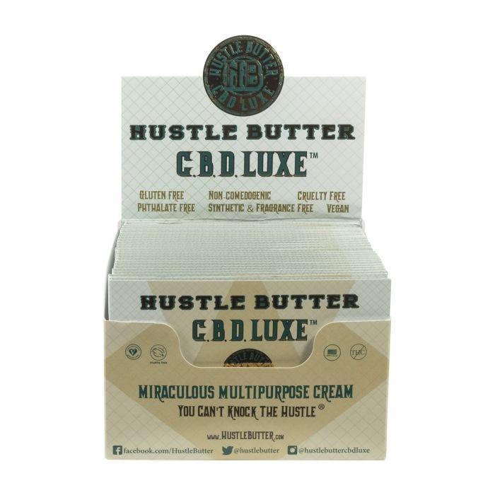 Hustle Butter CBD Luxe förpackning organisk tatueringsvård 1,875g
