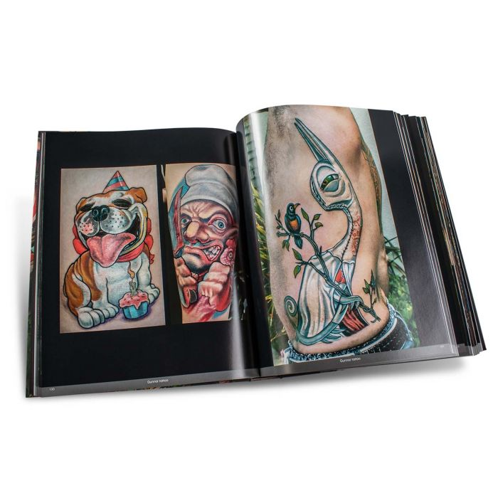 Color Tattoo Art: Comics, Cartoon, Pin-Up, Manga + New School - Edition Reuss