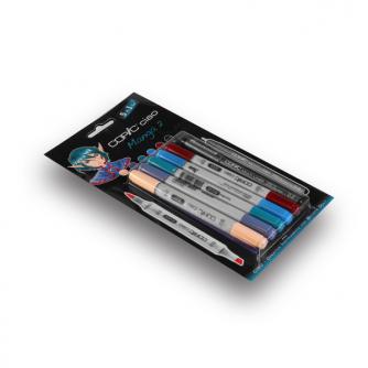 Copic CIAO Märkpennor - Manga 2 - 5+1-pack