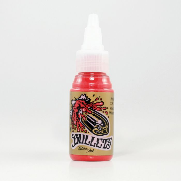 Bullets Tattoo Ink C.P.'s Flesh Wound Bullets Tattoo Ink 35ml