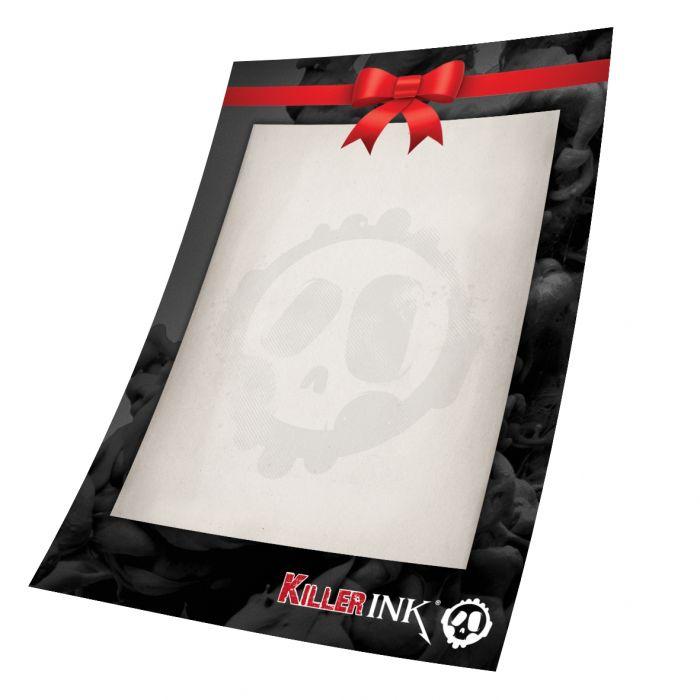 Killer Ink 2500SEK Presentkort