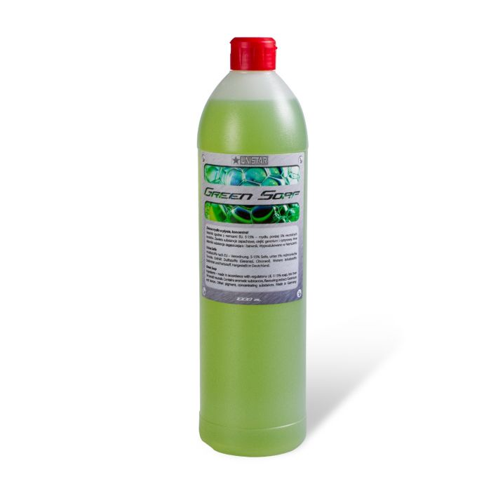 1L Flaska med Cyber Grön Såpa
