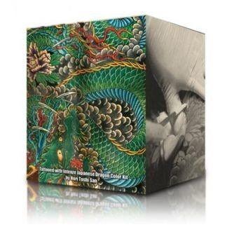 Komplett Set med 6st Intenze Ink Dragon Colours 30ml (1oz)