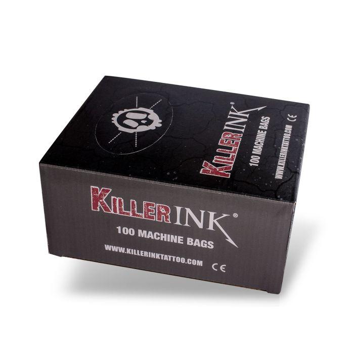 Låda med 100st Killer Ink Tatueringsmaskins Överdrag