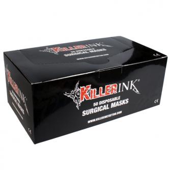 Låda med 50st Killer Ink Kirurgmasker