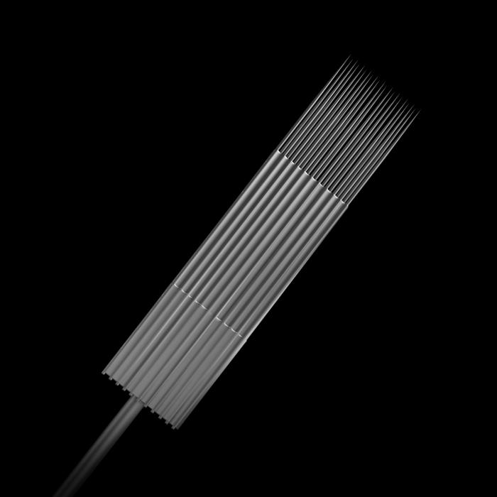 5-pack Killer Ink Bug Pin 0.25MM Steriliserade Tatueringsnålar i Rostfritt Stål Magnum Weaved