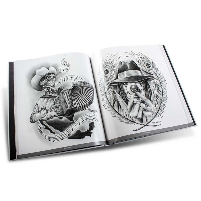Latino Art Collection: Tattoo-Inspired Chicano, Maya, Aztec And Mexican Styles - Edition Reuss