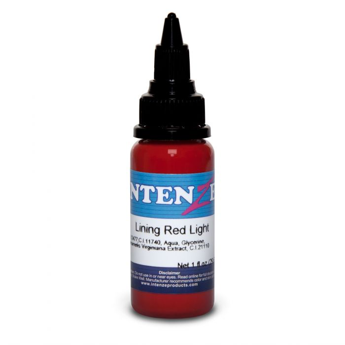 Intenze Ink Color Lining Serien Lining Red Light 30ml (1oz)