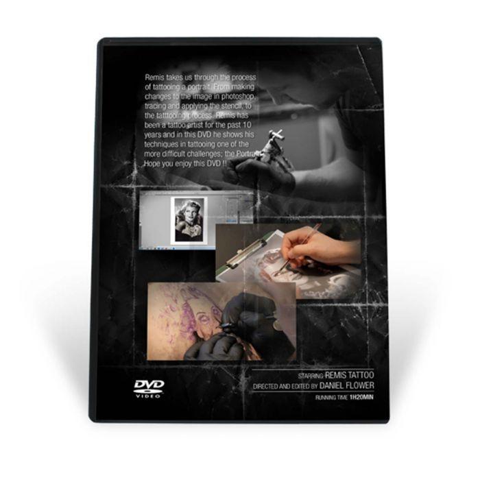 Remis Black & Grey Portrait Tattooing DVD