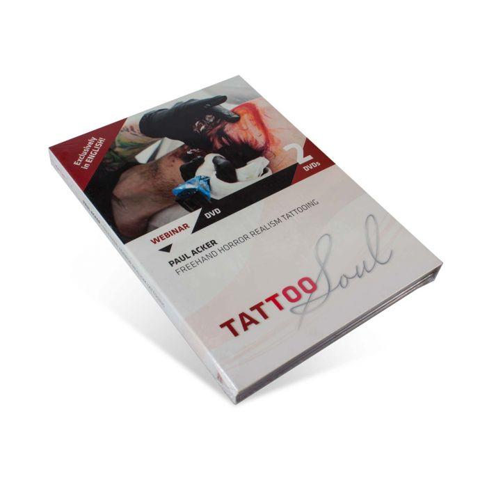 TattooSoul DVD - Paul Acker