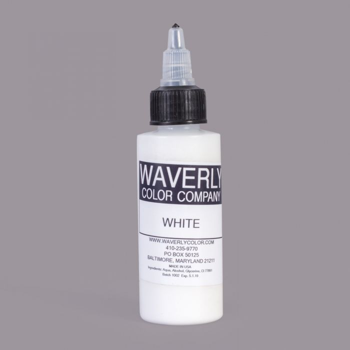 WAVERLY Color Company White 60ml (2oz)